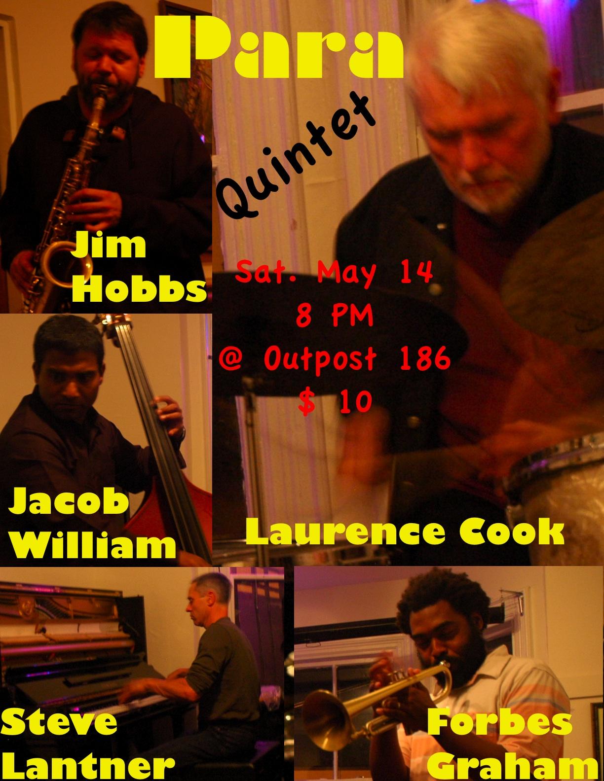 Jacob William Para Quintet May 14, '11